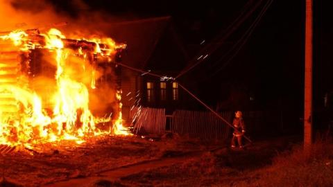 Ночью на пожаре погиб мужчина