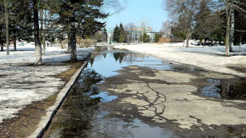 К концу апреля температура в Саратовской области достигнет 13 градусов