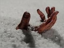 Балашовец замерз на улице