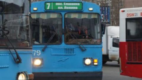 Один троллейбусный маршрут в Саратове не будет работать до вечера