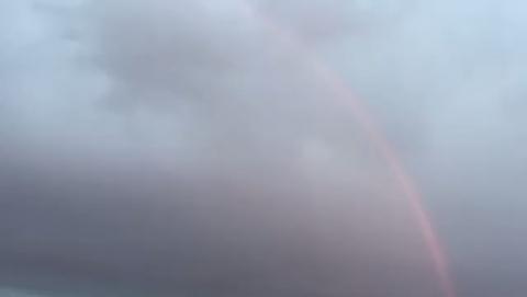 Над Саратовом появилась первая в этом году радуга