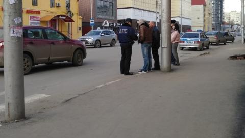 Женщина-водитель сбила пешехода в центре Саратова