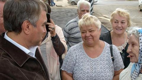 Панков: Каждый приезд Володина в районы – это решенные проблемы людей