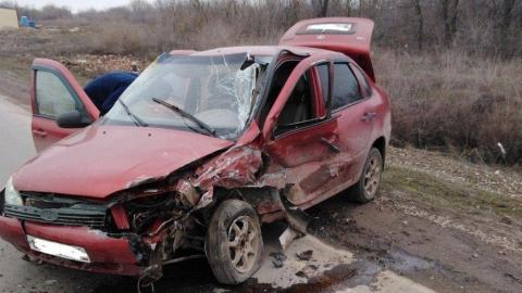 В столкновении двух автомобилей ранена восьмилетняя девочка