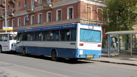 В Саратове не работают семь автобусных маршрутов