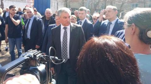 Вячеслав Володин предложил реконструировать школу в Приволжском без прекращения занятий