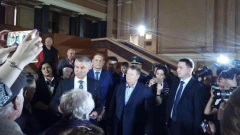 Вячеслав Володин предложил отреставрировать Дом офицеров и памятник Марине Расковой в Летке