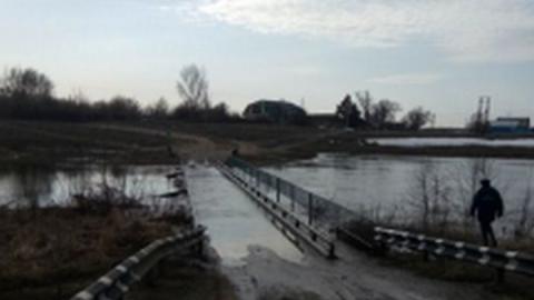 Паводок-2019. В Аткарском районе затоплен мост
