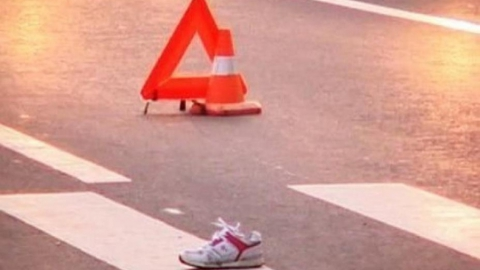 Два часа назад иномарка сбила девочку