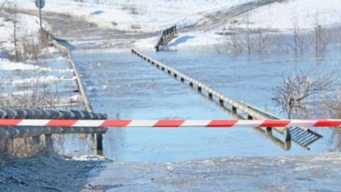 Паводок-2019. В Аткарском районе перекрыли мост, в Лысогорском прогнозируют подтопление