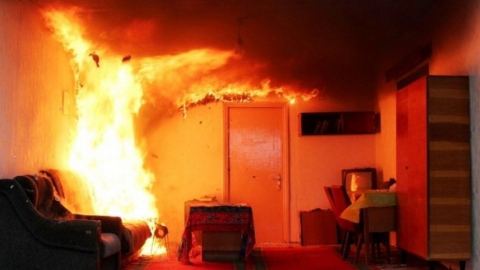 """C пожара в гостинице """"Богемия"""" эвакуировали 15 человек"""