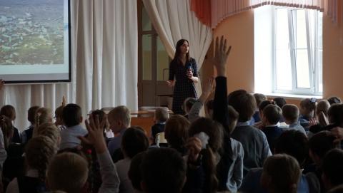 Сотрудники «КВС» провели экологический урок для школьников