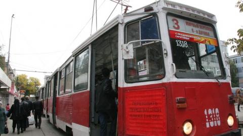 Только что на 3-й Дачной трамвай сбил мужчину