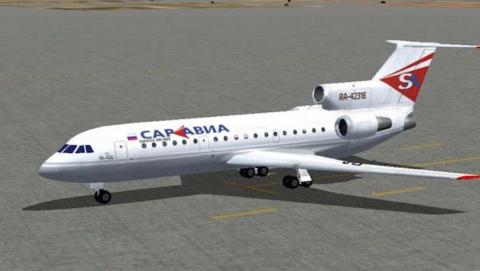 В Саратове пассажирский самолет разрезали на части