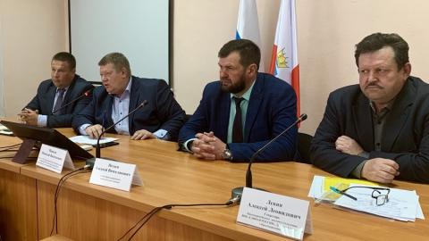 Николай Панков встретился с секретарями первичных отделений «Единой России»