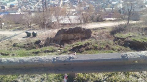 """Чиновники заявили о """"временной стабилизации"""" оползня на Кумысной поляне"""