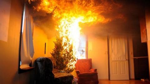 После пожара скончалась 85-летняя женщина
