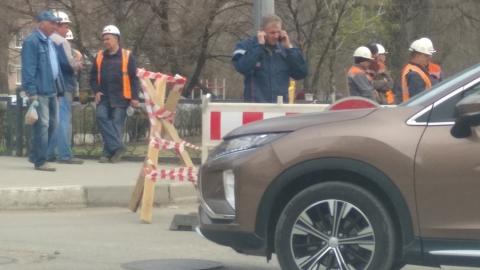 Перекрыта улица Рахова. Теплоэнергетики ремонтируют магистраль