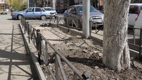 «КВС» благоустраивает участок улицы Советской