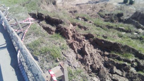 Дорогу над оползнем на Кумысной поляне сегодня вечером откроют