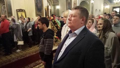 Николай Панков пожелал землякам чаще говорить тёплые слова родным и близким