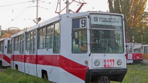 Из-за поломки остановились трамваи №9