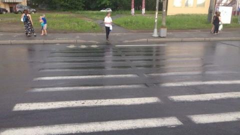 Разметка на саратовских дорогах стирается через три месяца