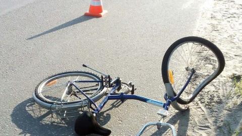 Водитель сбил мальчика-велосипедиста и скрылся