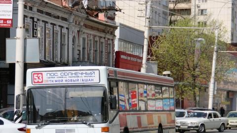 Возле Крытого рынка в автобусе упал пассажир