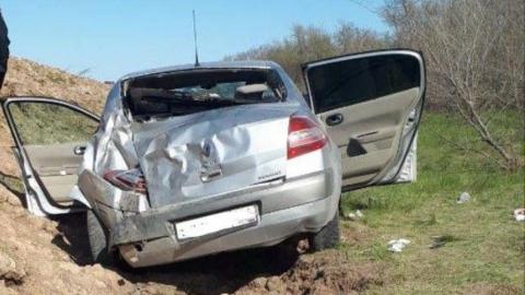 В слетевшей с дороги иномарке погибла женщина