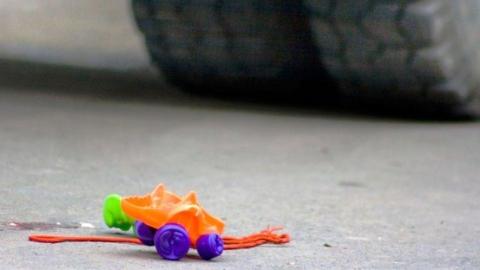 В Энгельсе иномарка сбила пятилетнего мальчика