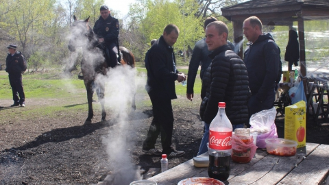 На Кумысной поляне оштрафовали нескольких любителей шашлыков
