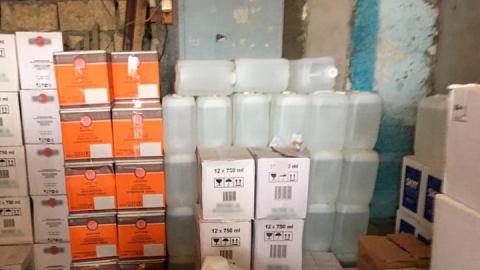 В Саратовской области уничтожат полтысячи литров алкоголя