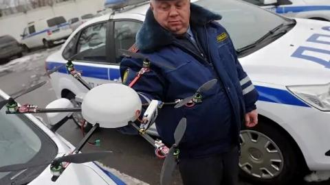 Полицейские напомнили о наказаниях за использование квадрокоптеров в праздники