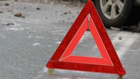 На Кумысной поляне микроавтобус сбил двух пешеходов