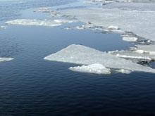 На Волге начался ледоход