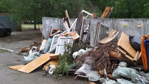 За праздники на переработку принято больше 5000 тонн крупногабаритных отходов