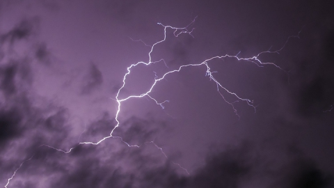 В ближайшие сутки над регионом будут бушевать грозы и сильный ветер