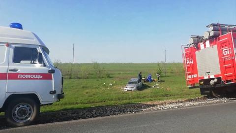Водитель «Тойоты» погиб в кювете, его пассажир - в машине скорой помощи