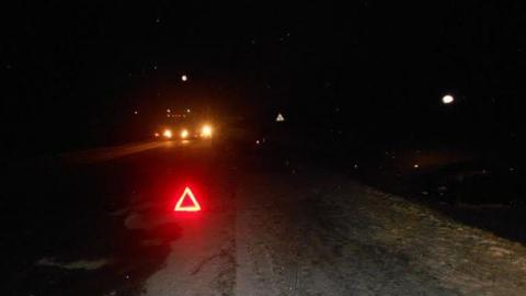 """Водитель """"Нивы"""" бросил раненную пассажирку и сбежал с места ночной аварии"""