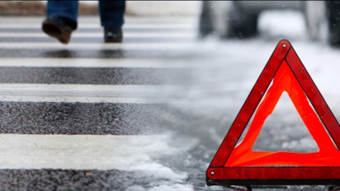 «Нива» сбила двух человек на пешеходном переходе