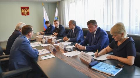 Губернатор Валерий Радаев провёл встречу с председателем правления ПАО «Т Плюс» Андреем Вагнером