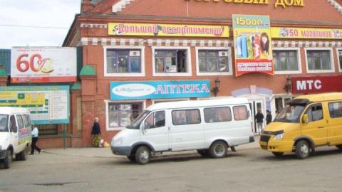 В Энгельсе конечную автобусов убрали от ярмарки