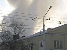 Сгорело административное здание маслобойного цеха