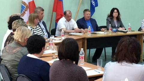 Николай Панков обсудил с однопартийцами проблемы Ивантеевского района
