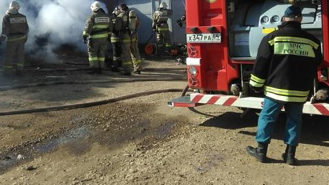 Полтора часа назад в депо сгорели два троллейбуса