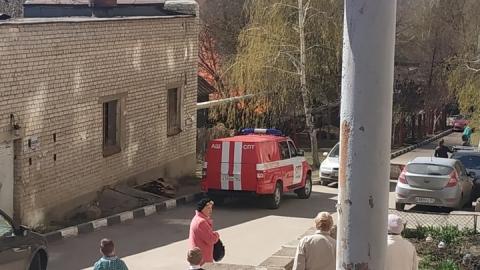В центре Саратова горела котельная