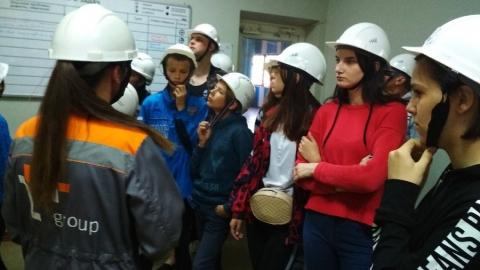 Воспитанники детских домов посетили Саратовскую ТЭЦ-5