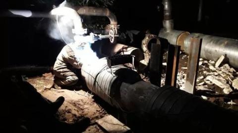 Энергетики досрочно восстановили горячее водоснабжение в Энгельсе