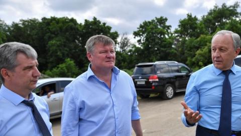 Валерий Радаев посетил Солнечный-2 и поручил начать строить парк на землях Семхоза»